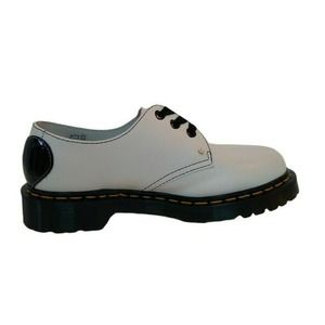 DR. MARTENS Womens 1461 Hearts White Derby Shoe 6 New in Box